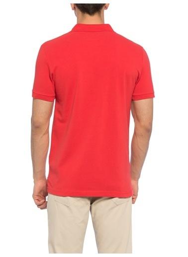 LC Waikiki Polo Yaka Tişört Kırmızı